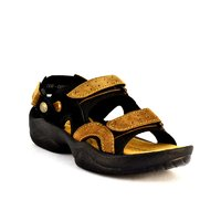 Zoot24 Black Casual Black Sandals
