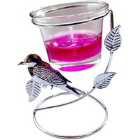 Designer Candle - Unique Arts Beautiful Bird Shaped Gel Candle With Stand
