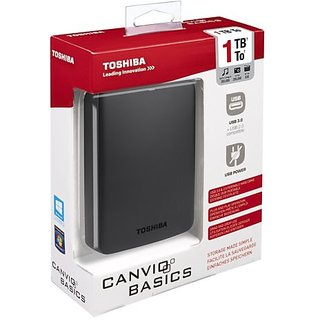 Toshiba Canvio Basics 1 TB Hard Disk