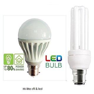 cfl  led lights combo