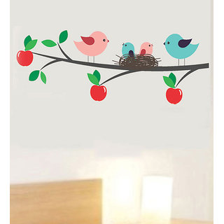 Apple Branch Birds Nest