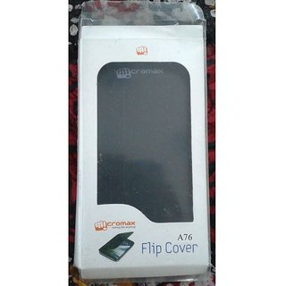 flip cover micromax fun a76 black available at ShopClues for Rs.188