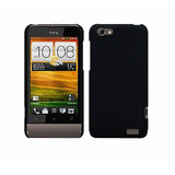 Black Hard Back Cover Case Pouch for HTC One V