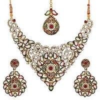 Designer Kundan Bridal Wear Necklace NK-1817