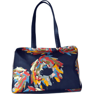 Angelfish Designer Shoulder Tote Fabric Bag for women- AELKABJ01183
