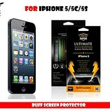 BUFF ULTIMATE SHOCK PROOF SCREEN GUARD PROTECTOR FOR APPLE iPHONE 5/5S/5C