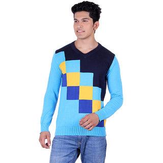 Ogarti 4002 Intartia Turquise Mens Sweater