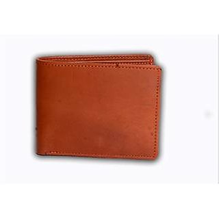 Style Corner Brown Genuine Leather Wallet