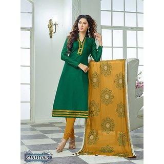 NIKITA FASHIONS Churidar Kurta Unstitched Dress Material