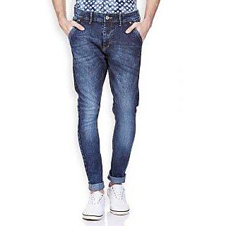 BanditDark Blue Balloon FitJeans