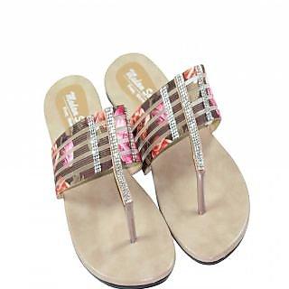 Vandy Crafts Beige Sandals