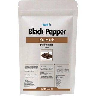 Healthvit Black Pepper Powder 100Gms