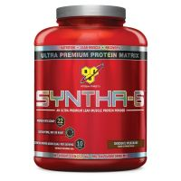 BSN Syntha-6 Protein Powder - 5 Lbs (Chocolate Milkshake)