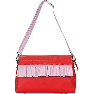 Borsavela Fairy frill lavender Handle Bag