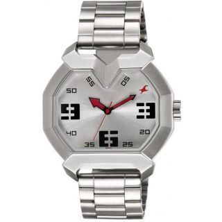Silver Dial Mens Analog Watch - 3129SM01
