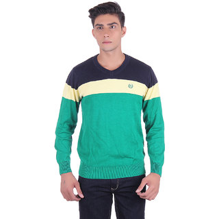 Ogarti 2009 Striped Green Mens Sweater