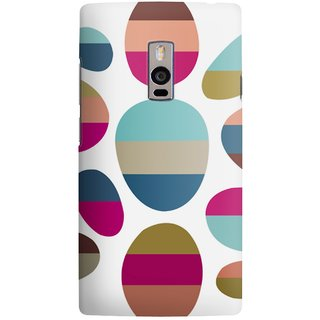 The Fappy Store ColorFull Designer Printed Back Cover Case One Plus 2