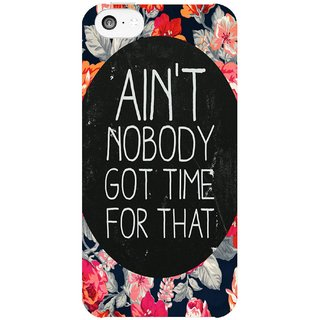 The Fappy Store AinT-Nobody Hard Plastic Back Casecover For Apple Iphone 5C Tfpj81243 -255