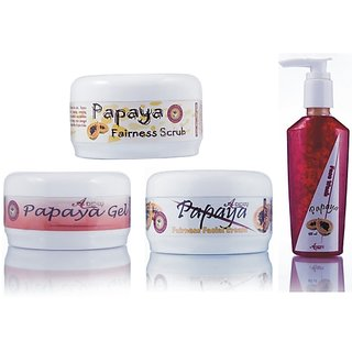 Herbal Skin Brightening Papaya Fairness Pack Price In