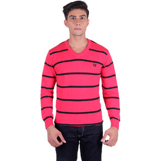 Ogarti 2006 Striped Red Mens Sweater