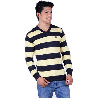 Ogarti 2003 Striped navy Mens Sweater