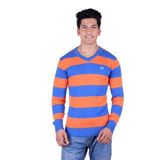 Ogarti 2003 Striped Royal Mens Sweater