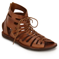 ESTD .1977 Men Casual Macho Tan Leather Sandal