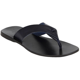 8964ce2a2f9b ESTD 1977 Men Casual Navy Blue Leather Branded Flip Flops available at  ShopClues for Rs.