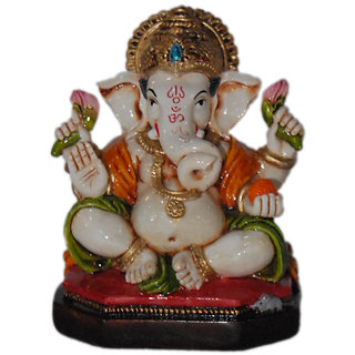 Madg Religious Idols of Lord Ganesha, best choice for car decor Showpiece