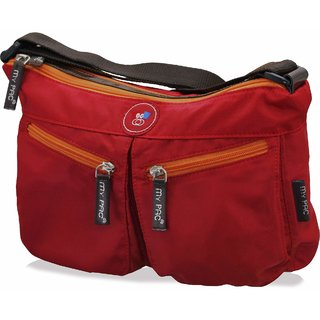 my pac-ViVaa Sling bag Red C11543-3