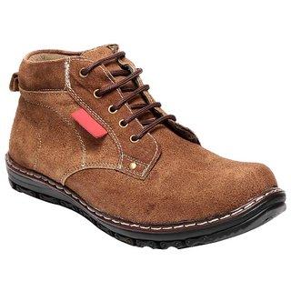 Aleron Stylish Suead Leather Boot -8