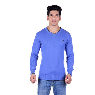 Ogarti 2001 Plain Royal Mens Sweater