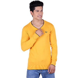 Ogarti 2001 Plain Gold Mens Sweater
