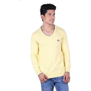 Ogarti 2001 Plain Lemon Mens Sweater