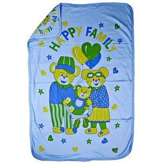 Love Baby Bath Towel 902 Egyption Cotton Regular Cartoon Print (Blue)