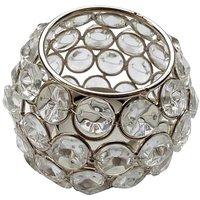 T-light - Unique Arts Beautiful Round Matki Shaped Crystal Tea Light