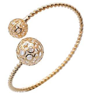Ravishing Rhodium Austrian Diamond Bracelet  for Women JMP409
