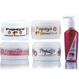 Ayurvedic Herbal Papaya Glow Fairness Face Pack