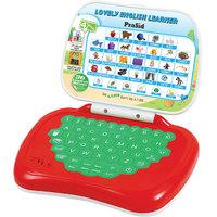 PraSid Lovely English Learner Kids Laptop RedGreen