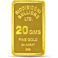 20 Gms 24 Kt Gold Bar 999 Purity