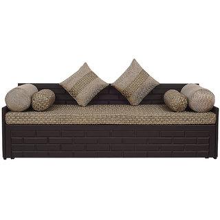 Arra Brick Sofa Bed Jute
