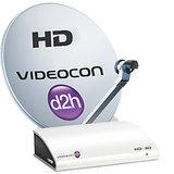 Videocon D2h SD Set Top Box + 1 Year South Silver (South) FREE
