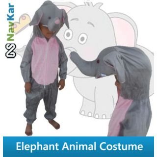 Elephant Animal Costume for Fancy Dress Competition for Kids  Fancy Dress