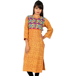 Full Sleeve Print Kurta