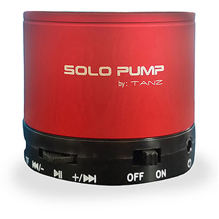 TANZ-Solo-Pump-S10-Music-Bluetooth-Speaker-Red