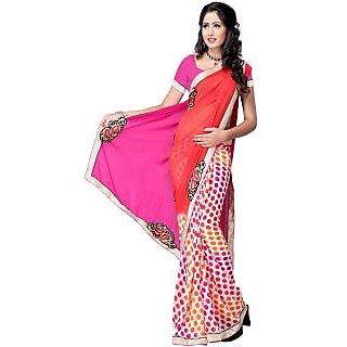 Printed Fashion Chiffon Sari