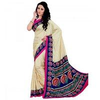 Miraan Art Silk Sarees With Blouse Piece VI1375A