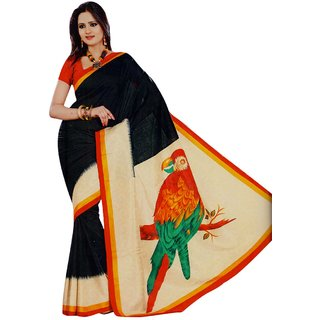 Miraan Art Silk Sarees With Blouse Piece VI6061A