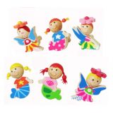 Vividha Door Knob Set Of 6 Fairy And Mermaid