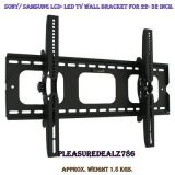 Lg Sony Bravia Samsung Akai 22 26 32 Lcd Led Tv Wall Mount Bracket.